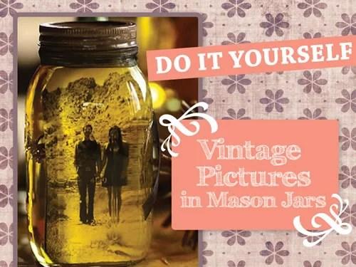 DIY Photos In Mason Jars [Infographic]
