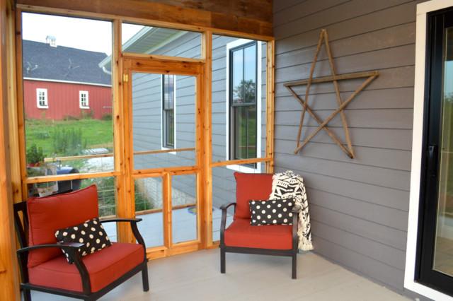 Diy Screened Porch Newlywoodwards