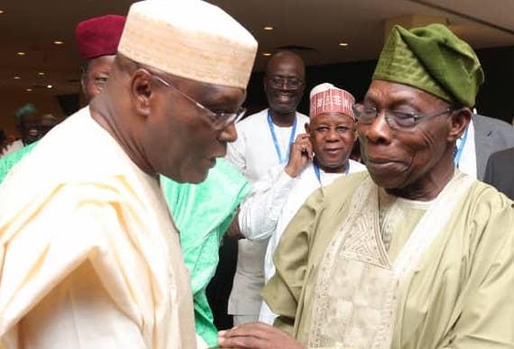 Image result for Obasanjo forgives Atiku,