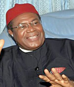 John Nnia Nwodo, President Ohanaeze Ndigbo