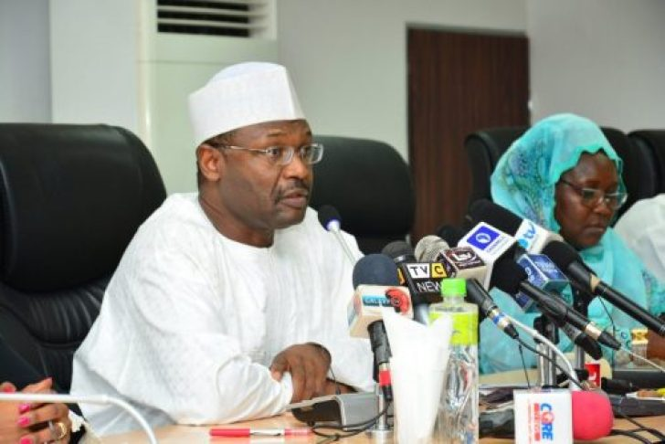 Image result for INEC Prof. Mahmood Yakubu on Friday in Kano