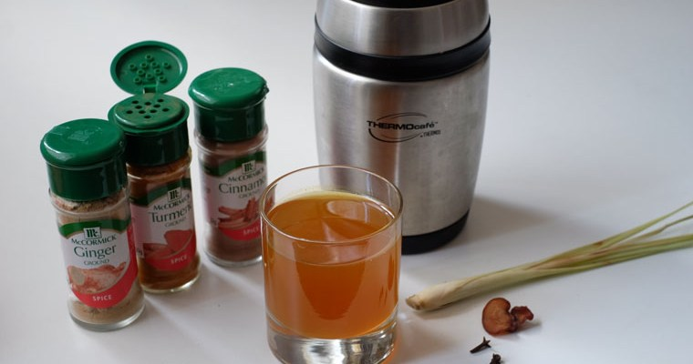 Overnight Jamu Tonic in Thermos – 5 min