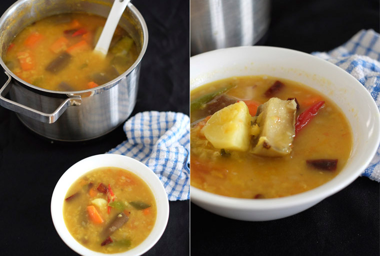 easy dhal curry