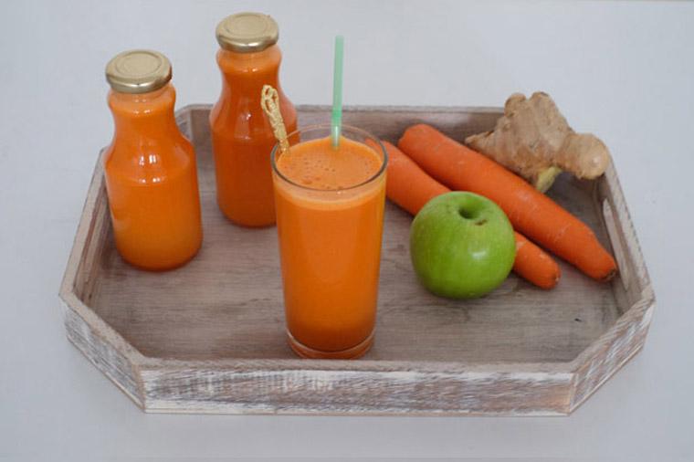 Easy, No-Peel Cold Pressed Juice – 3 Ingredients