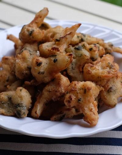 Vegetarian Fried Prawns/ Fried Cauliflower