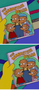 Mandela Effect The Berenstain or The Berenstein Bears