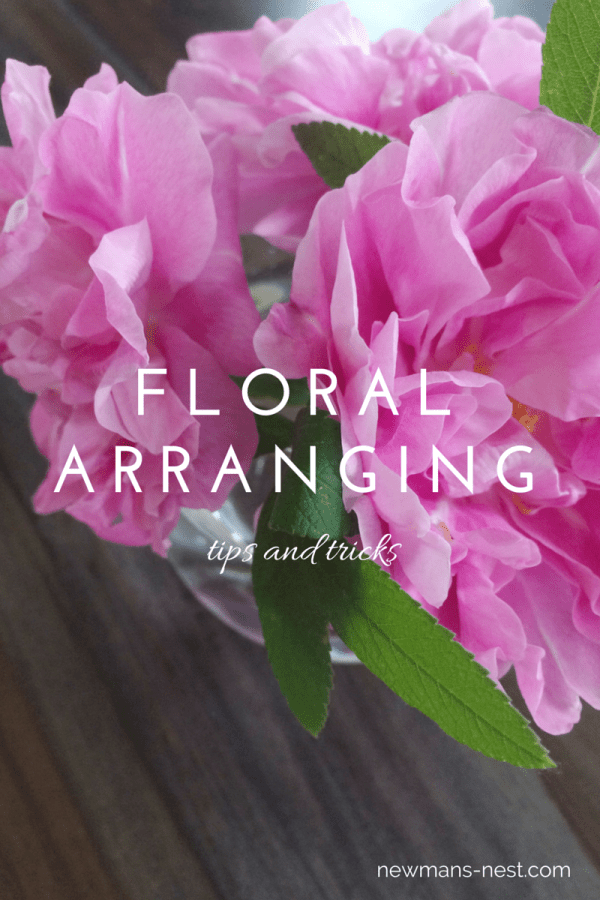 floral arranging tips and tricks