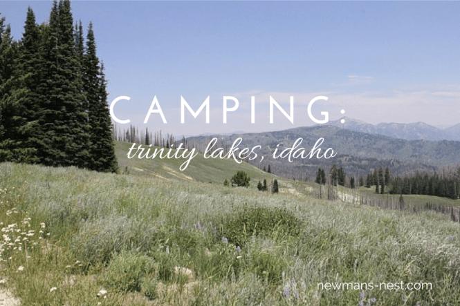 camping trinity lakes idaho
