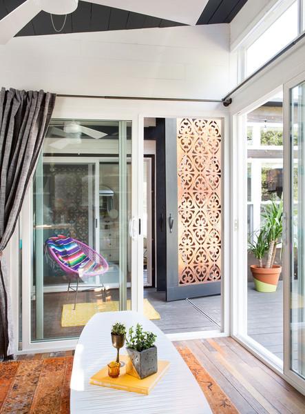 tiny austin home, interior design, modern