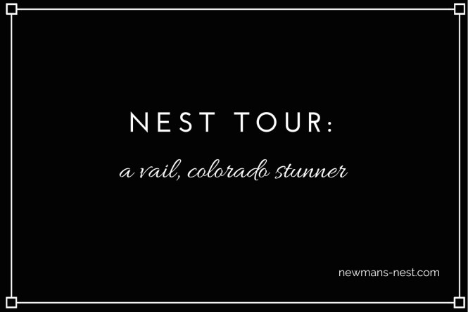 nest tour a vail colorado stunner