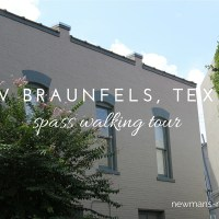 new braunfels, texas, spass walking tour, tourist