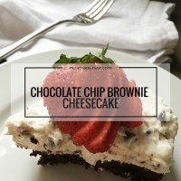 tasty recipe, chocolate chip cheesecake, dessert, recipe, easy dessert, cheesecake
