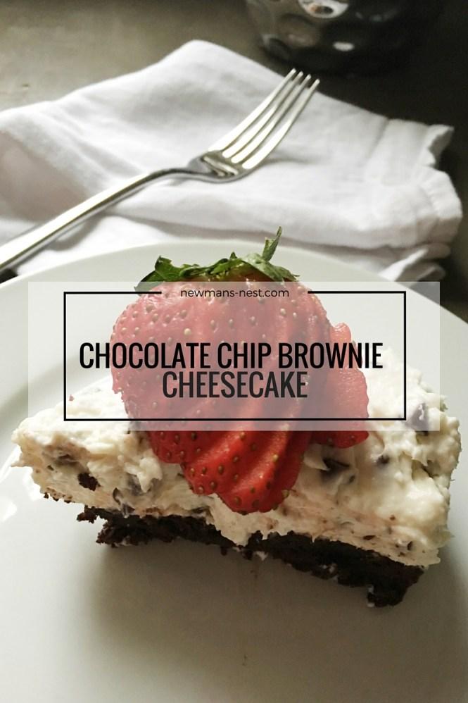 tasty recipe, chocolate chip cheesecake, dessert, recipe, easy dessert, cheesecake