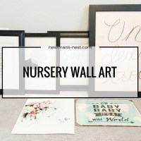 nursery, inspiration, nursery artwork, wall art