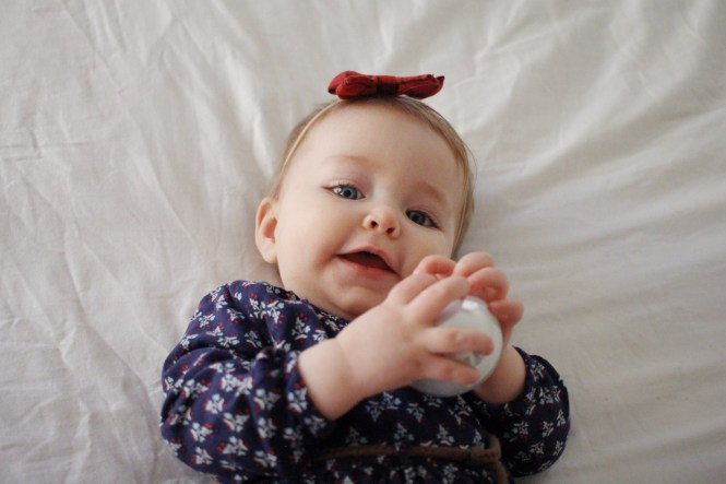 Lovecarters, 8 month old baby girl, monthly baby picture