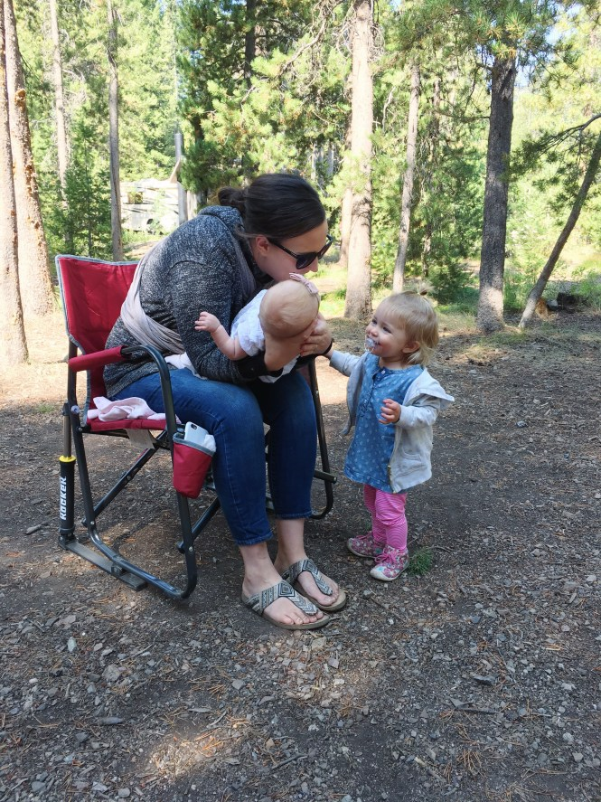 Camping in sun valley, Idaho camping, best campsite in wood river Campground, camping with kids in Ketchum