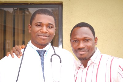 Dr Tochi & Barnabas (The Web Consultant)
