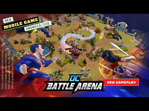 DC Battle Arena Gameplay   Mobile Games   New Games 2021