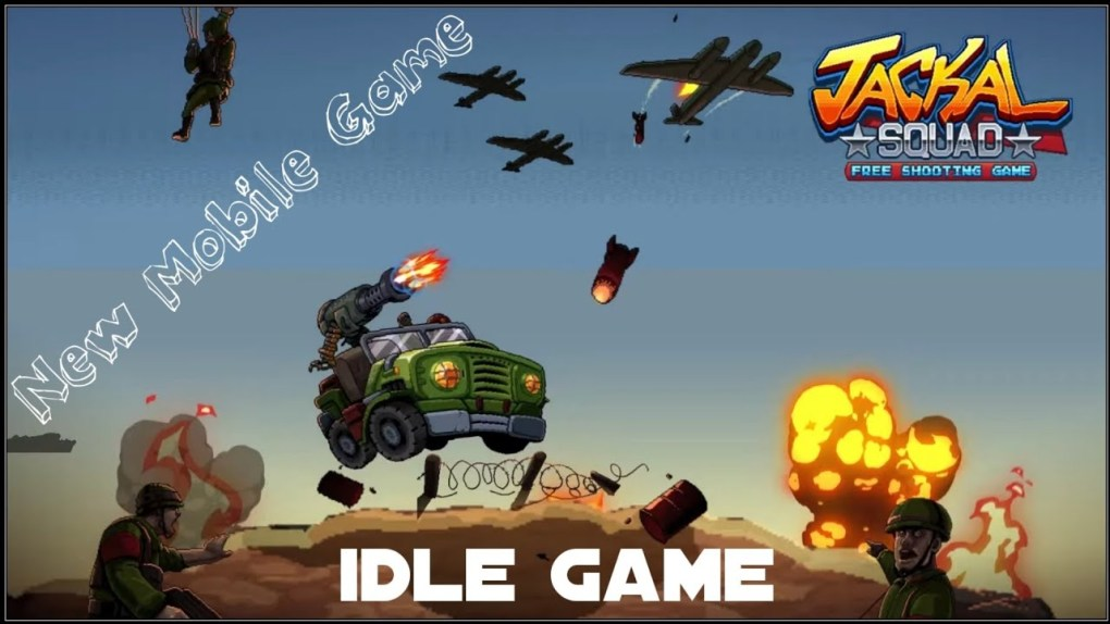 New Mobile Game | Jackal Squad - Arcade Shooting Gameplay | NewMbGames