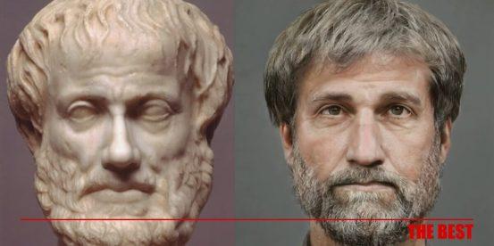 Τα παλιά πρόσωπα αποκαλύπτονται.  ΕΙΝΑΙ ΠΩΣ ΕΙΝΑΙ ο Σωκράτης, ο Περικλής, ο Αριστοτέλης …