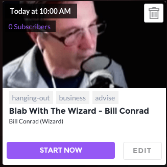 BLAB WITH BILL