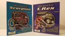 Robotic Scorpion and T. Rex