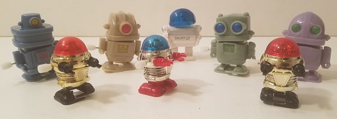 Mechanical Toy Bots