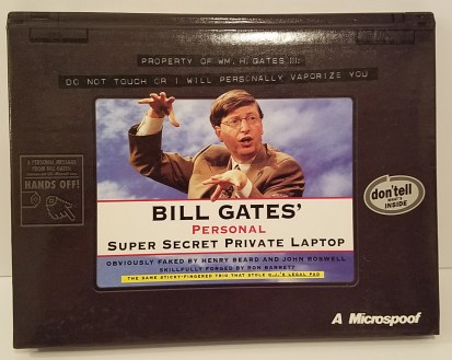 Bill Gates' Personal Super Secret Private Laptop