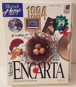 Encarta by Microsoft Home