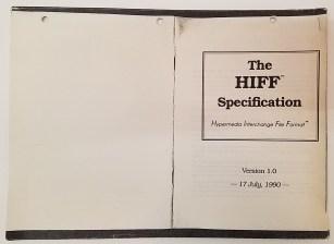 Hypermedia Interchange File Format (HIFF)