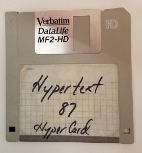 HyperCard HyperText87 (Disk)