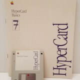 HyperCard 7 Disks & Documentation