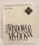 Microsoft Windows & MS-DOS