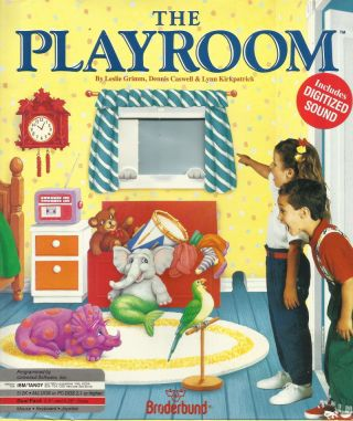 The Playroom by Brøderbund
