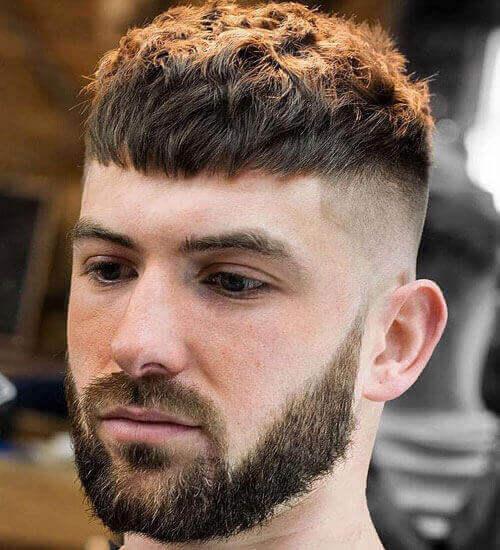 Short Hair Undercut For Men