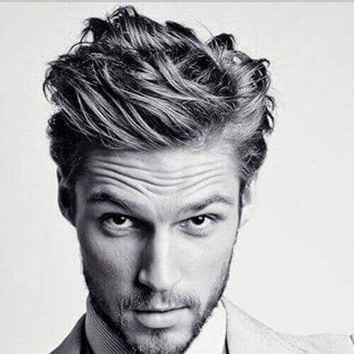 Textured Men's Hairstyles For Oval Faces