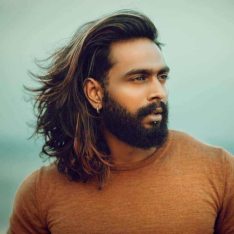 Highlighted Hair for Men
