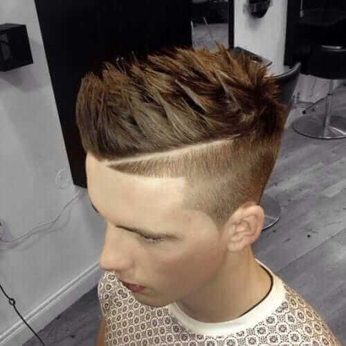 Angled Fade Haircut