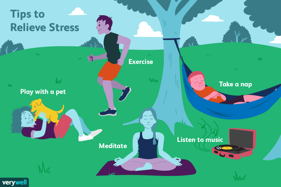 how to be stress free life