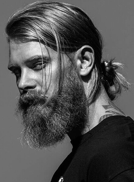 Long Full Beard styles for men-2