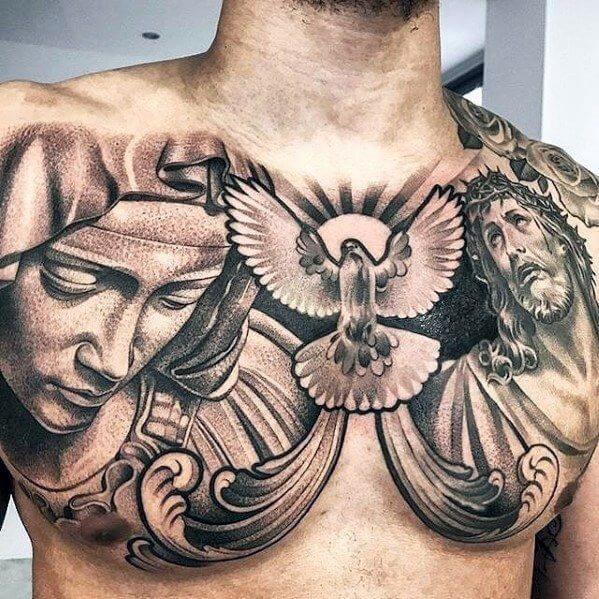 best chest tattoos for men 2021-5