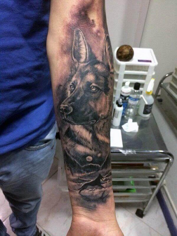 animal tattoos for guys