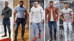 Outfits for muscular men