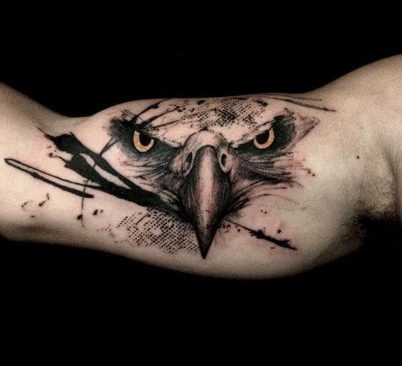 eagle tattoos for guys