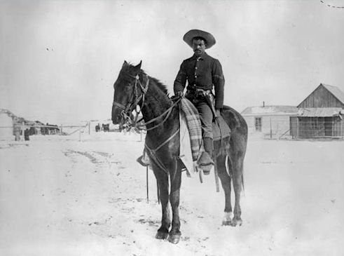 Buffalo Soldier, 9th Cavalry, 1890