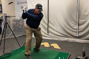 PGA Pro Monty Mills at GolfTec in Albuquerque