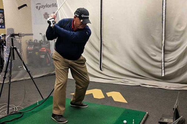 PGA Pro Monty Mills at GolfTec in Albuquerque