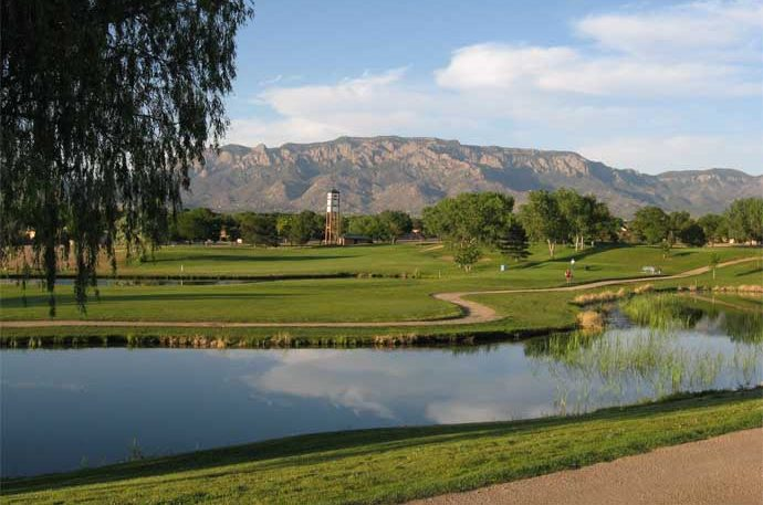 Arroyo del Oso is one of four Albuquerque city golf courses