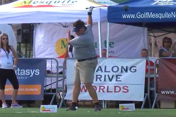 Bobby Baca one-arm golfer