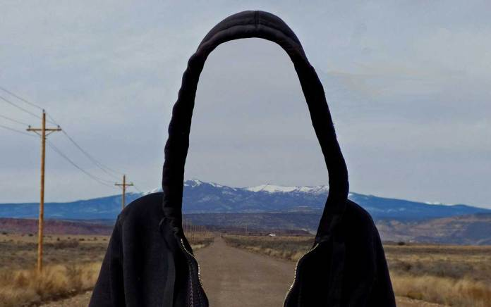 New Mexico Nomad wandering Laguna Pueblo